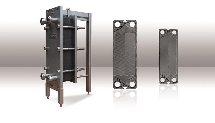 Joints adaptables pour échangeurs thermiques